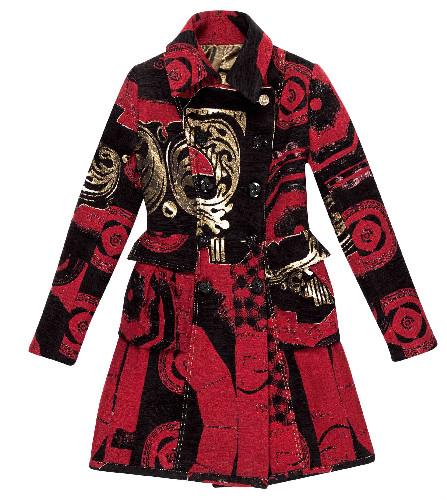 Stile Barocco Natale Il In Veste Desigual Christian Lacroix Di qgAg0Z